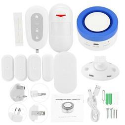 Wireless Smart Wifi Home Security Siren Anti-theft Alarm Sys