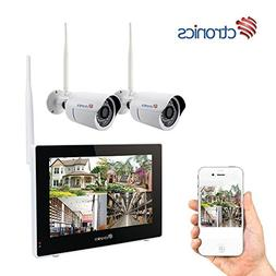 Wireless Camera System Home Security Camera Set  Two Wi-Fi V