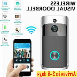 Wireless Visual WiFi Doorbell Smart IR Intercom Video Home S