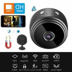 Wireless Wifi 1080P Mini Spy Camera Home Security Cam Magnet