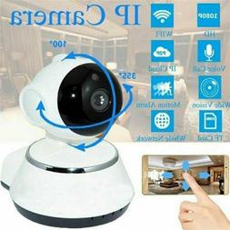 Wireless WIFI Pan Tilt Security IP Camera 720P IR Night Home