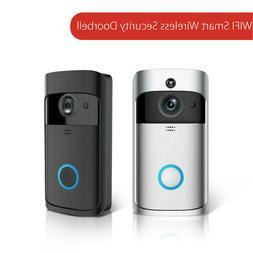 Wireless WiFi Video Doorbell Smart Phone Door Intercom Secur