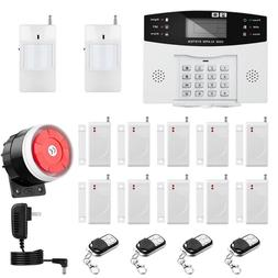Wireless Wired GSM Home House Alarm System Security Burglar