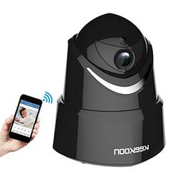 Keekoon 1080P Wireless/Wired IP Camera,Baby Monitor with Two